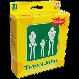 Travel John! 5 pack – (5 unidades)