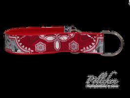 Pöllchen Komfort-Zugstopphalsband Weihnachtsstern