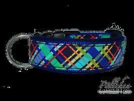 Pöllchen Komforthalsband Plaid Blau
