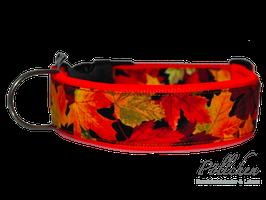 Pöllchen Komforthalsband Herbstlaub Orange
