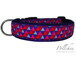 Pöllchen Komforthalsband Triangular Blau