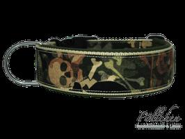 Pöllchen Komforthalsband Totenkopf Tarnmuster