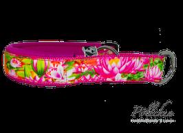 Pöllchen Komfort-Zugstopphalsband Flamingo