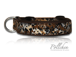 Pöllchen Komforthalsband Digital Desert Camo