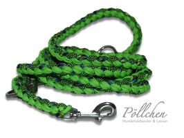 Paracord Leine Greeny