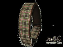 Pöllchen Komforthalsband Plaid Braun