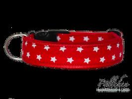 Pöllchen Komforthalsband Sterne Rot