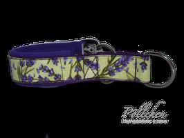 Pöllchen Komfort-Zugstopphalsband Lavendel