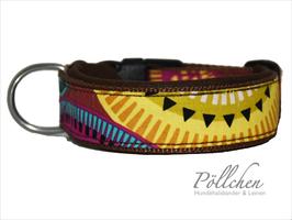 Komforthalsband Indian Style Braun