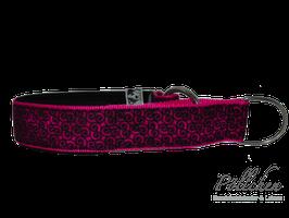 Pöllchen Komfort-Zugstopphalsband Kringel In Pink