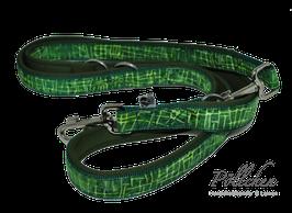Pöllchen Leine Batik Grün