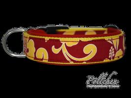 Pöllchen Komforthalsband Aloha Rot & Gelb
