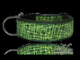 Pöllchen Komforthalsband Batik Grün