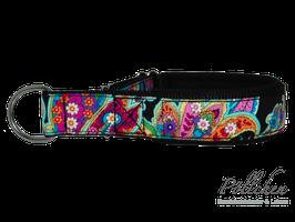 Pöllchen Komfort-Zugstopphalsband Colorful Paisley