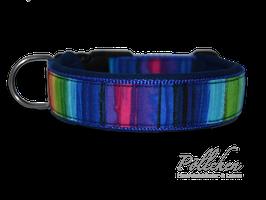 Pöllchen Komforthalsband Blauer Regenbogen