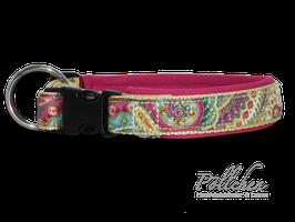 Komforthalsband mit Zugentlastung Ornamental Pink