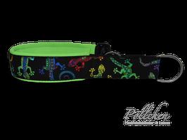 Pöllchen Komfort-Zugstopphalsband Mexican Gekko