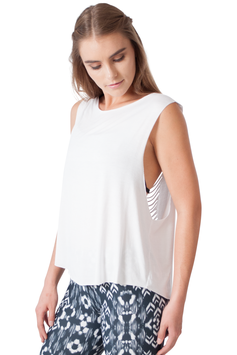 "JALA – TANK TOP ""SARI WHITE"""