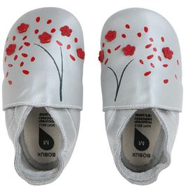 Bobux Lederpatschen Kirschblüte