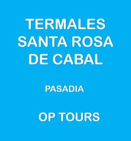 TERMALES SANTA ROSA DE CABAL PASADIA