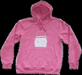 Hoodie Grumpy Man H001 bright pink