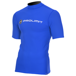 Prolimit Rashguard Logo Shortarm Royal Blue