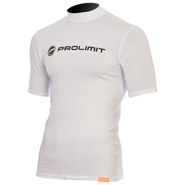 Prolimit Rashguard Logo Shortarm White