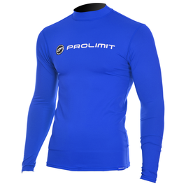 Prolimit Rashguard Logo Longarm Royal Blue