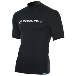 Prolimit Rashguard Logo Shortarm Black