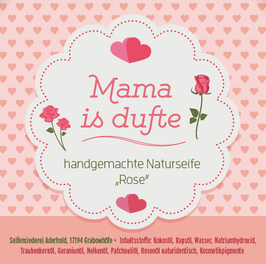 mama is dufte – naturseife