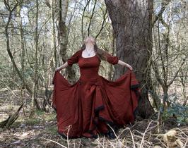 Lotus Dress | Natural Block prints