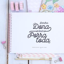 Dona Desta Porra Toda | Planner semanal + mensal a4