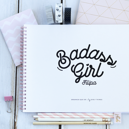 Badass Girl | Planner mensal a4