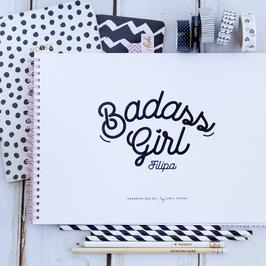 Badass Girl | Planner semanal + mensal a4