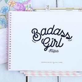 Badass Girl | Planner semanal a4