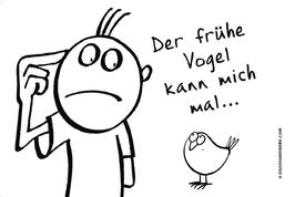 Brettchen - Früher Vogel