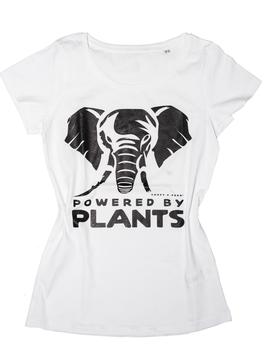 Elefant Plantpower! Zwei Farben.