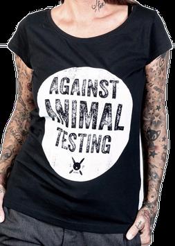 Against Animal Testing, Nein zu Tierversuchen