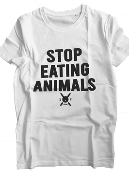 T-Shirt, Stop Eating Animals! unisex