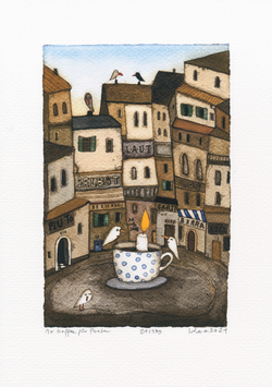 1x Kaffee für Poeten