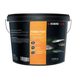 Kobre®San Pond Fish, Micro Pellets 1,5 mm, 1500g für Moderlischen, Bitterlinge, Gründling