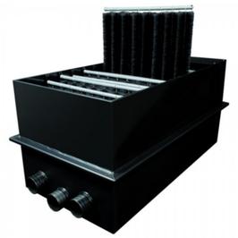 EVO Bürstenfilter 2000 von Genesis mit einer Hel-X Kammer statt Bürsten