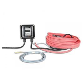 60m Teichband Heizung mit Thermostat  2400 Watt, bis 60'000 Liter bei Teichabdeckung mit 20A Schütz