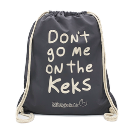 "SCHERZKEKS RUCKSACK ""DON'T GO ME ON THE KEKS"" - GRAPHIT"