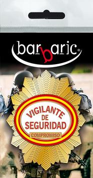 16126 - Placa identificacion Vigilante De Seguri