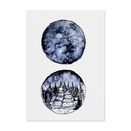 """Postkarte """"Winter"""""""