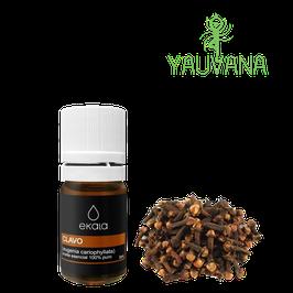 Aceite Esencial de Clavo de Olor / Clove (Eugenia Cariophyllata) 100% Puro - Frasco x 5 ml