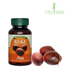 Aguaje - Frasco x 100 cápsulas x 400 mg c/u