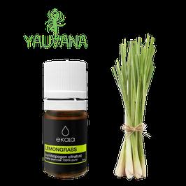 Aceite Esencial de Lemongrass (Cymbopogon Citratus ) 100% Puro - Frasco x 5 ml