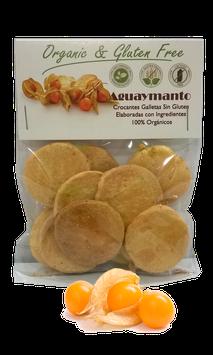 Galleta de Aguaymanto Orgánica, Libre de Gluten - Bolsa x 40 g